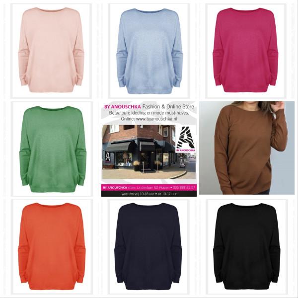 Azuka sweater brave at heart zwart – By Anouschka